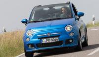 Fiat 500C, Frontansicht