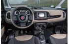 Fiat 500L 0.9 Twinair Lounge, Cockpit, Lenkrad
