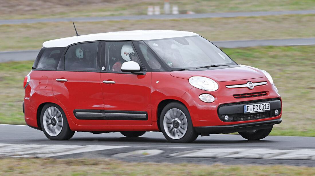 Fiat 500L Living, Frontansicht