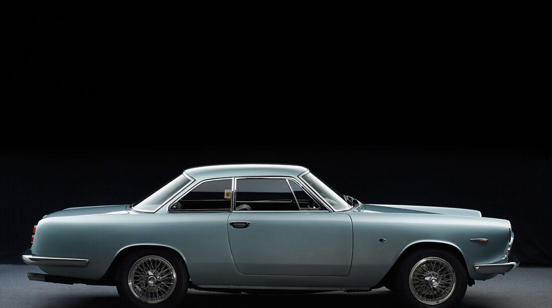 Fiat/Abarth 2400 Allemano, Seitenansicht