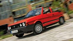 Fiat Bertone Ritmo Cabrio, Seitenansicht