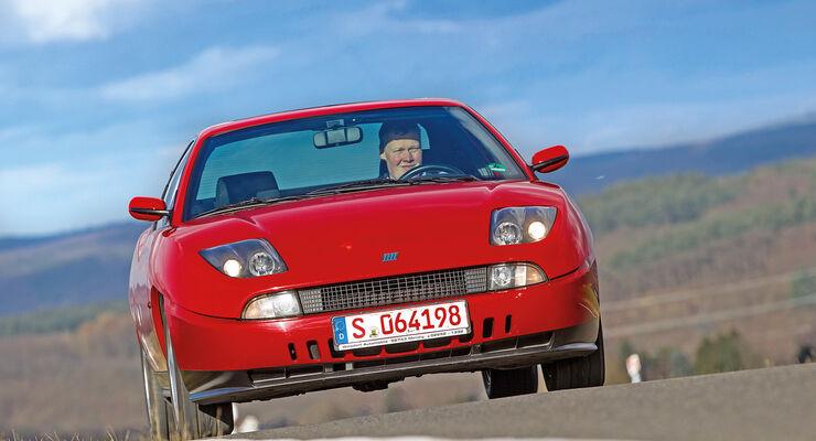 Fiat Coupé 16V, Frontansicht