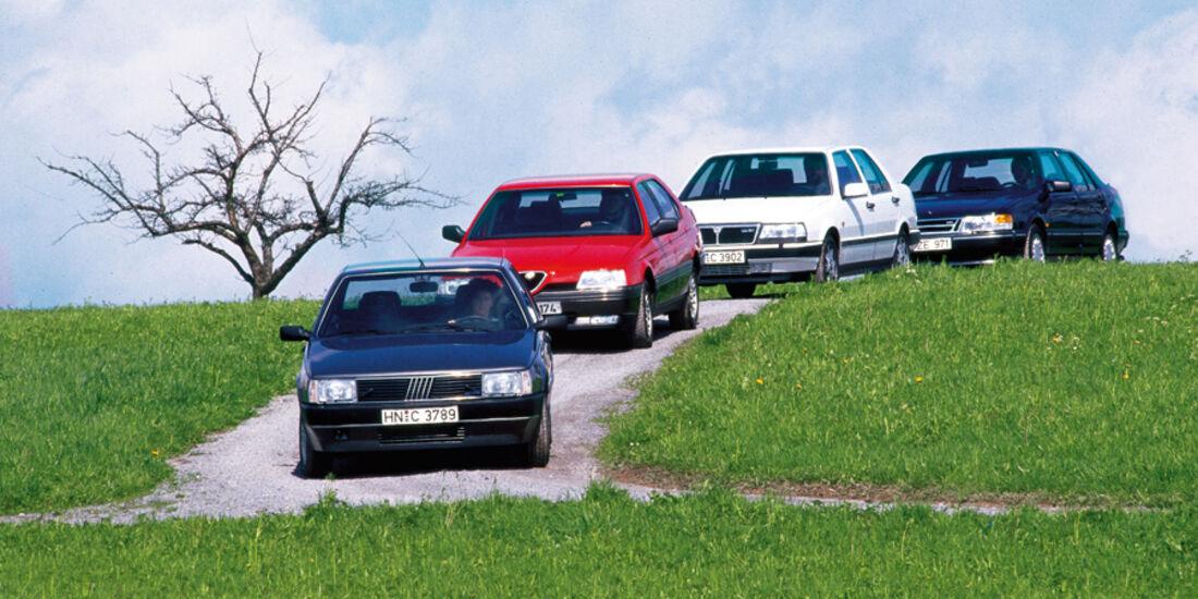 Fiat Croma, Alfa Romeo 164, Lancia Thema, Saab 9000