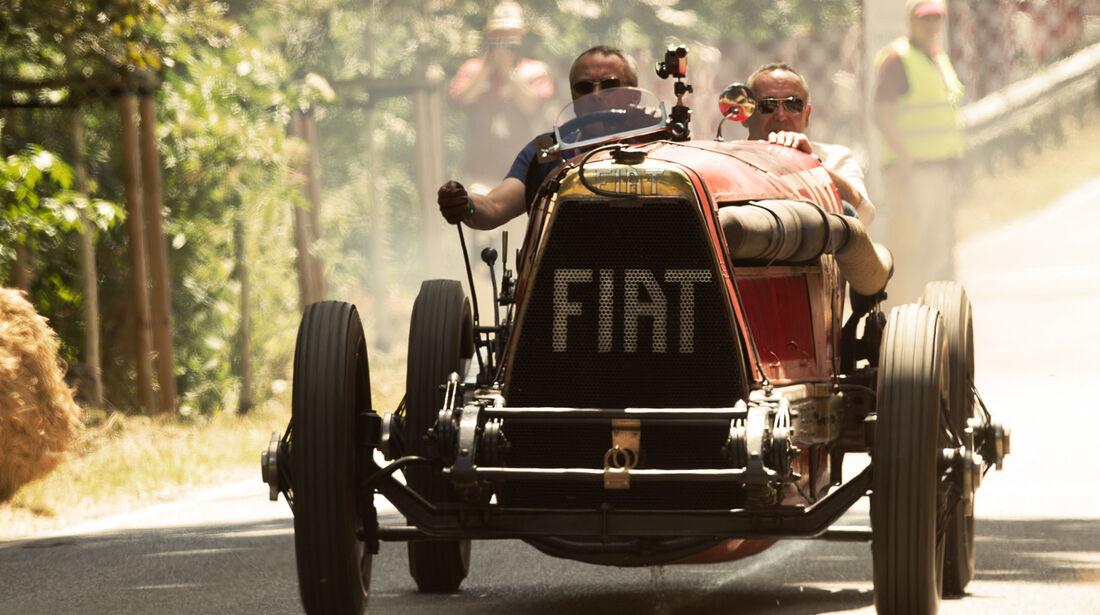 Fiat Mefistofele, Frontansicht