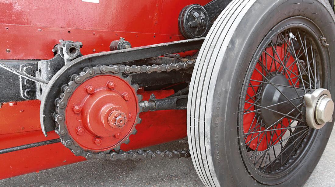 Fiat Mefistofele, Ketten, Antrieb