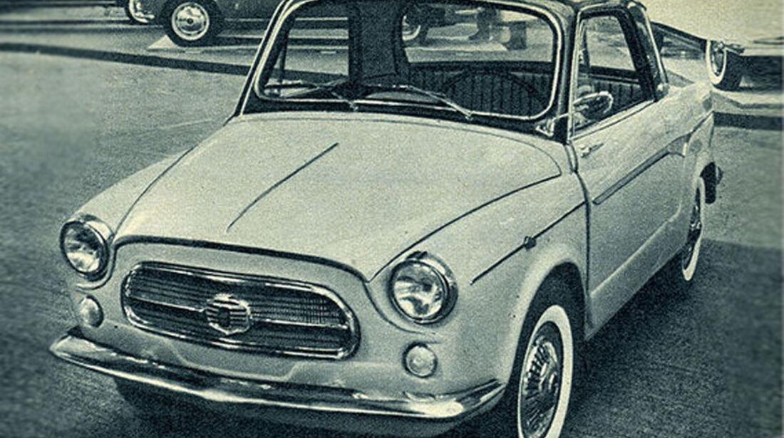 Fiat, NSU, IAA 1959