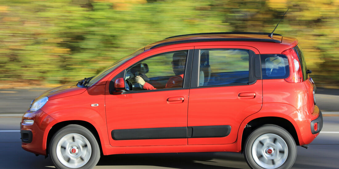 Fiat Panda 0.9 8V Natural Power Lounge, Seitenansicht