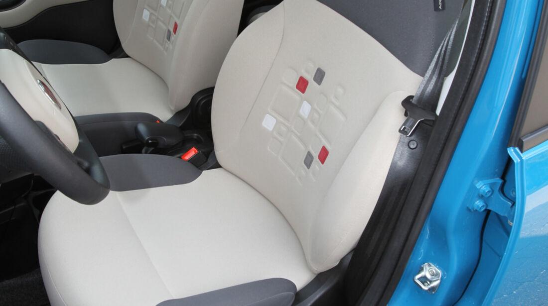 Fiat Panda 1.2 8V Lounge, Fahrersitz