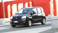Fiat Panda 1.3 Multijet 16V Lounge, Front, Kurvenfahrt