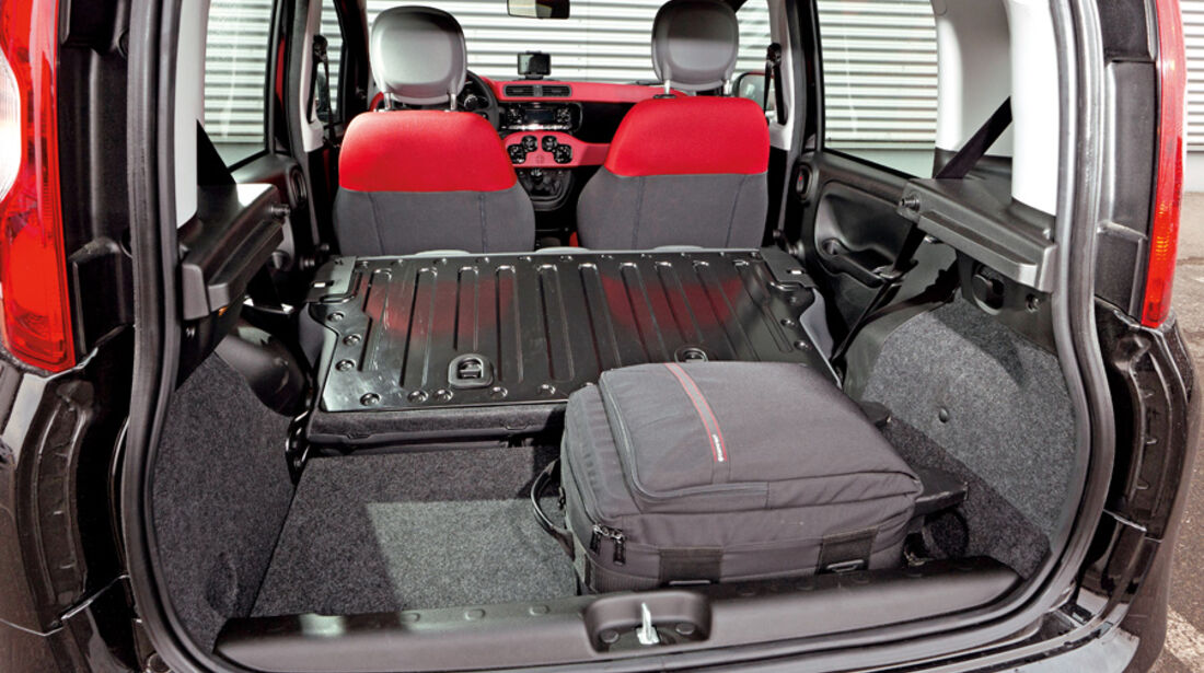 Fiat Panda 1.3 Multijet 16V Lounge, Kofferraum, Ladefläche