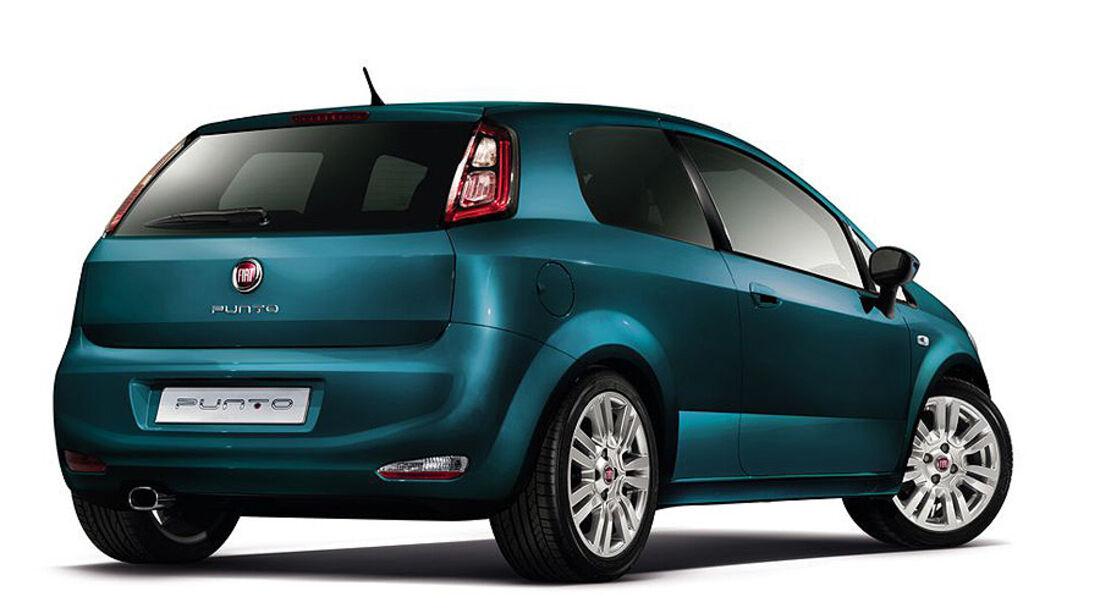 Fiat Punto, Modelljahr 2012