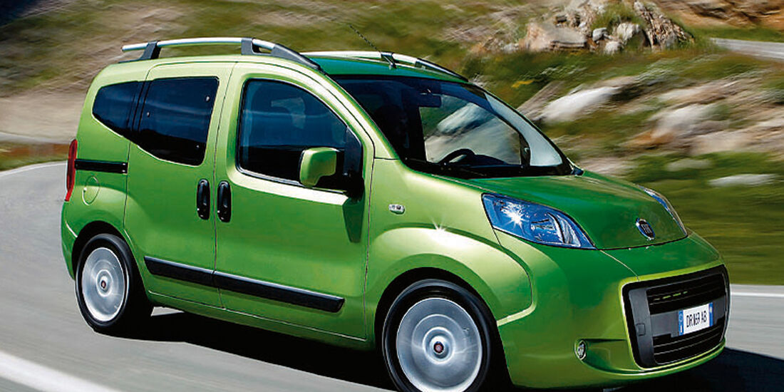 Fiat Qubo, Seitenansicht
