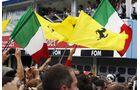 Flaggen - Formel 1 - GP Deutschland - 22. Juli 2012