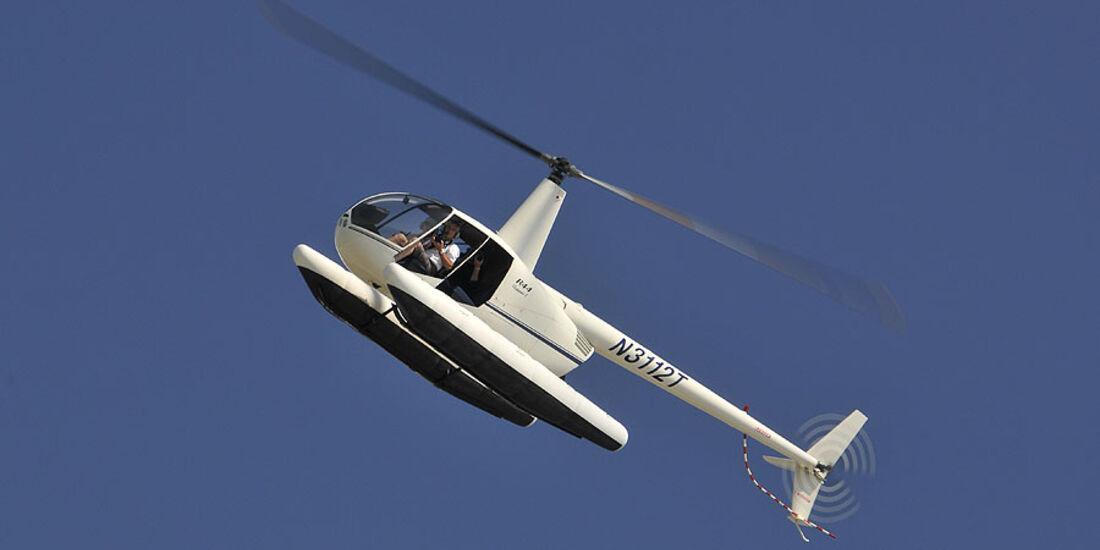 Florida mit BMW X5, Helikopter