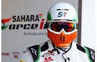 Force India - 2012 - Mechaniker - Helme - Formel 1
