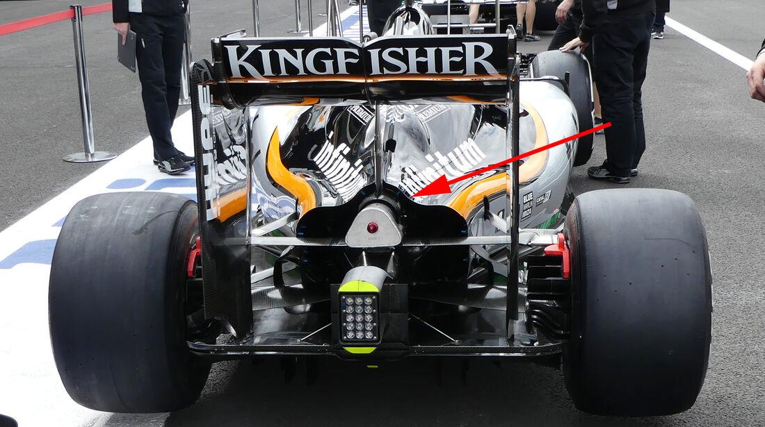 Force India - F1 Technik - GP Mexiko 2016