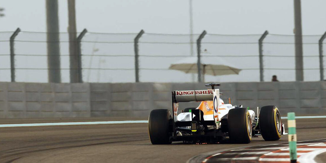 Force India - Formel 1 - GP Abu Dhabi - 02. November 2013