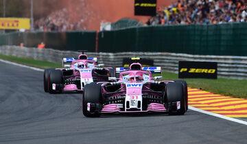 Force India - Formel 1 - GP Belgien 2018