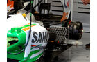Force India - Formel 1 - GP Belgien - Spa - 30.8.2012