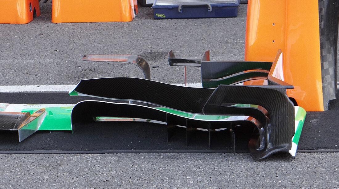 Force India - Formel 1 - GP Belgien - Spa-Francorchamps - 22. August 2013