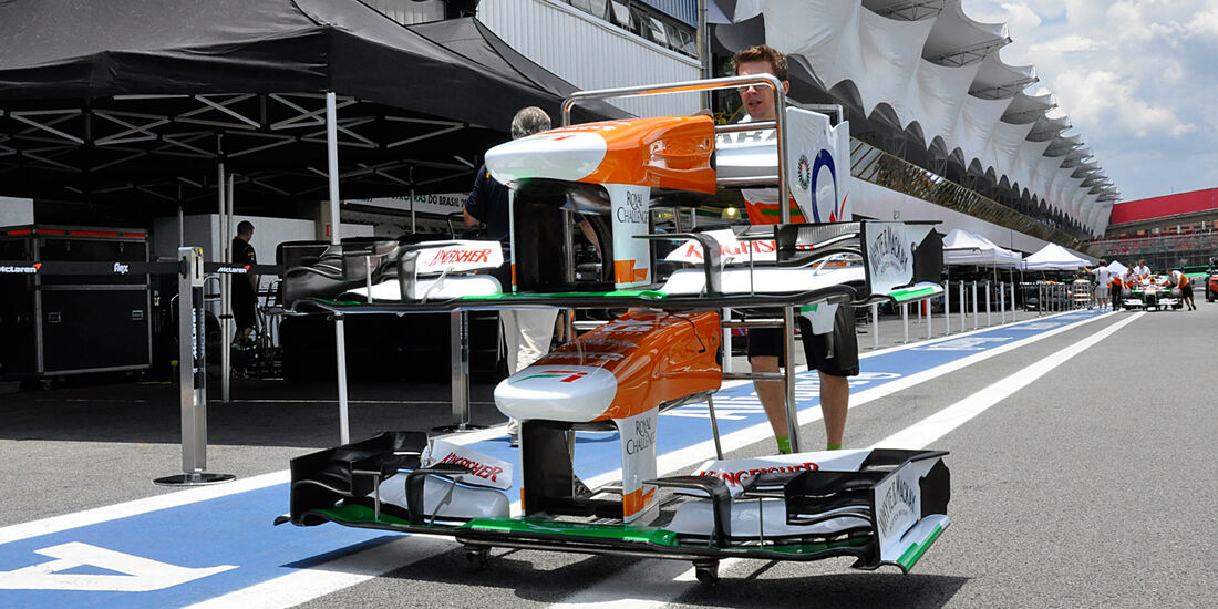 Force India - Formel 1 - GP Brasilien - 21. November 2013