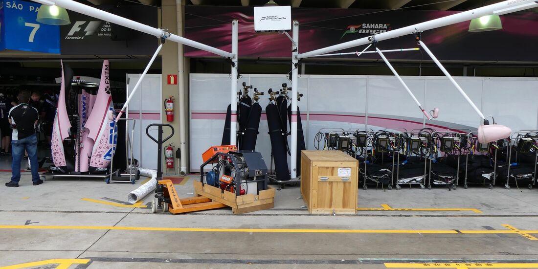 Force India - Formel 1 - GP Brasilien - 9. November 2017