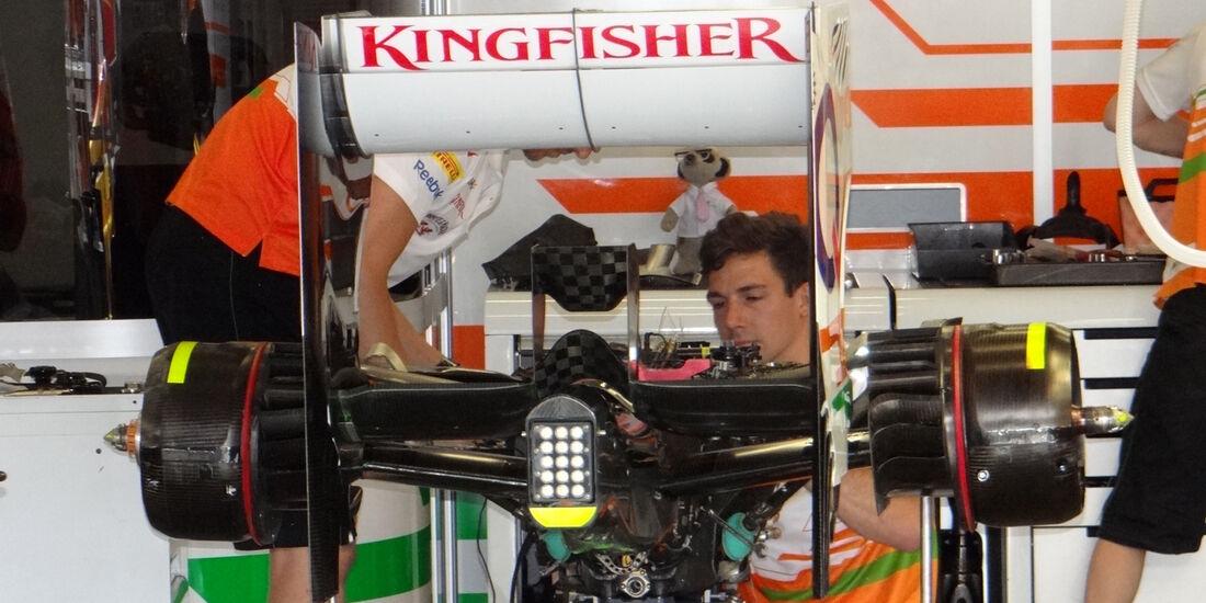 Force India - Formel 1 - GP Deuschland - 5. Juli 2013