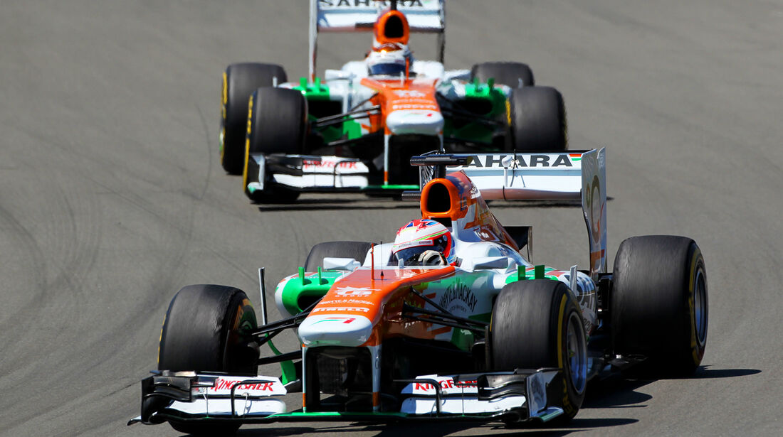 Force India - Formel 1 - GP Deutschland 2013