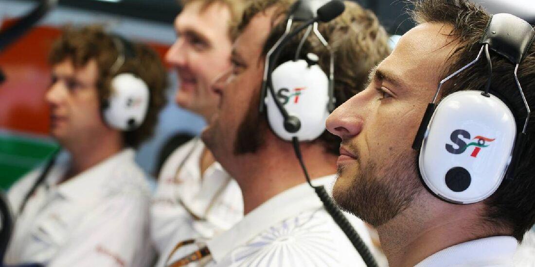 Force India - Formel 1 - GP Deutschland - 21. Juli 2012