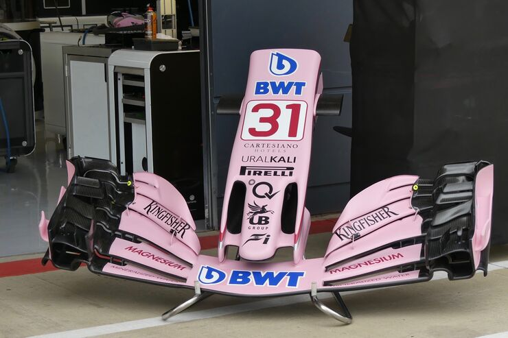 Force India - Formel 1 - GP England - 14. Juli 2017