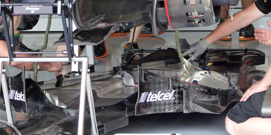 Force India - Formel 1 - GP England  - Silverstone - 4. Juli 2014