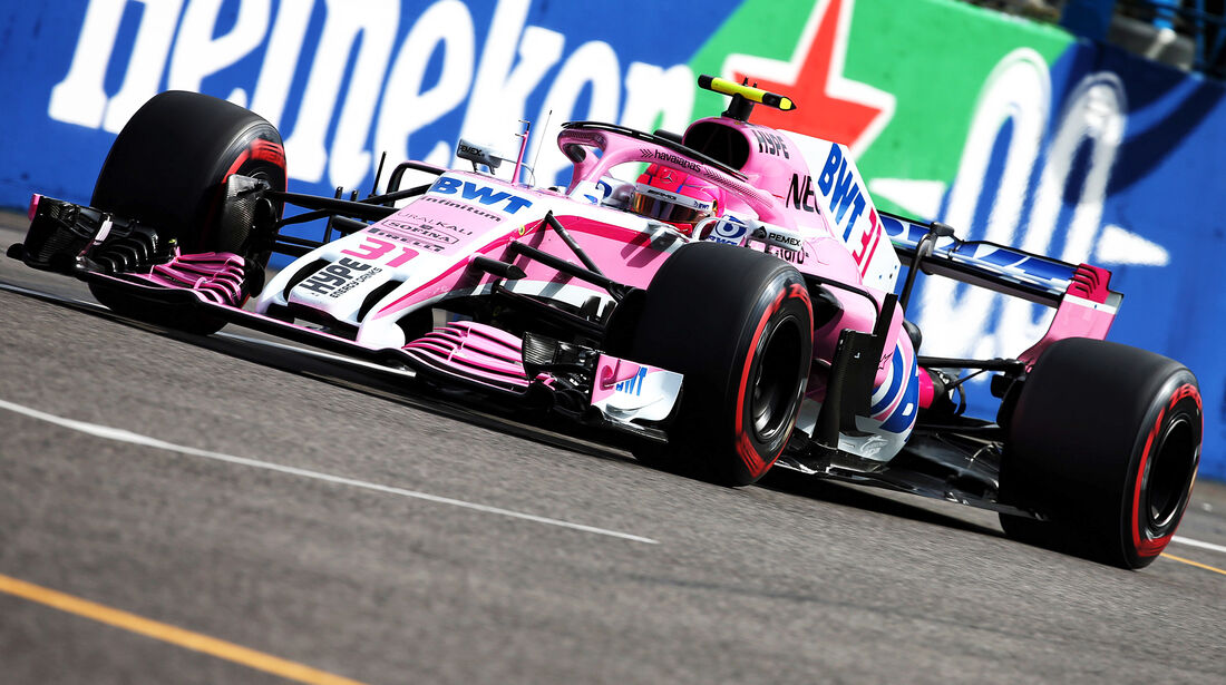 Force India - Formel 1 - GP Italien - 2018