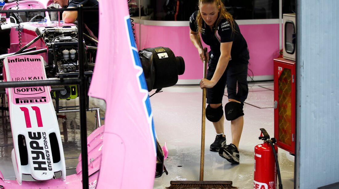 Force India - Formel 1 - GP Italien - 31. August 2018