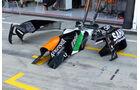 Force India - Formel 1 - GP Italien - 4. September 2014