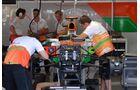 Force India - Formel 1 - GP Italien - 7. September 2012
