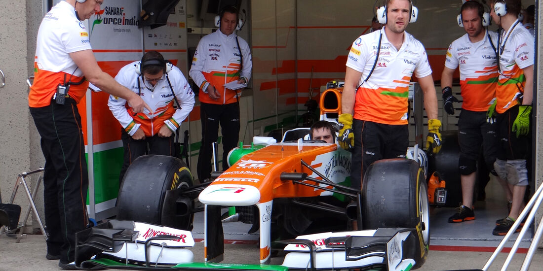 Force India - Formel 1 - GP Kanada - 6. Juni 2013