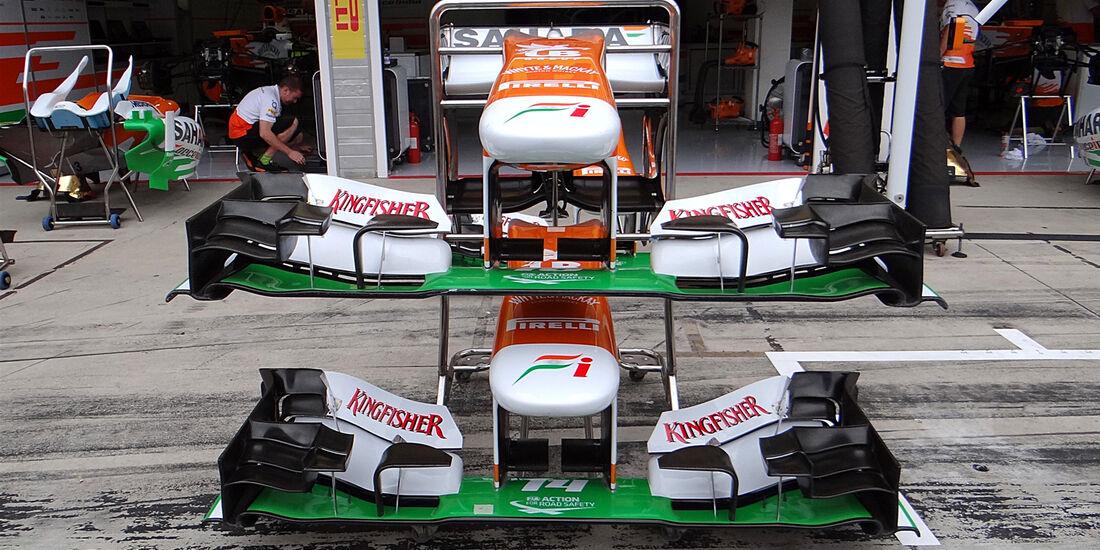 Force India - Formel 1 - GP Ungarn - 25. Juli 2013