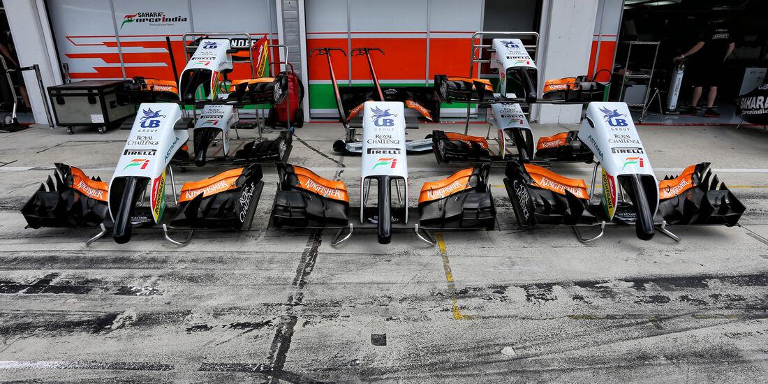 Force India - Formel 1 - GP Ungarn - Budapest - 24. Juli 2014