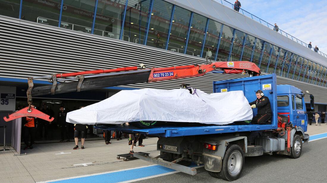Force India - Formel 1 - Jerez-Test - 28. Januar 2014