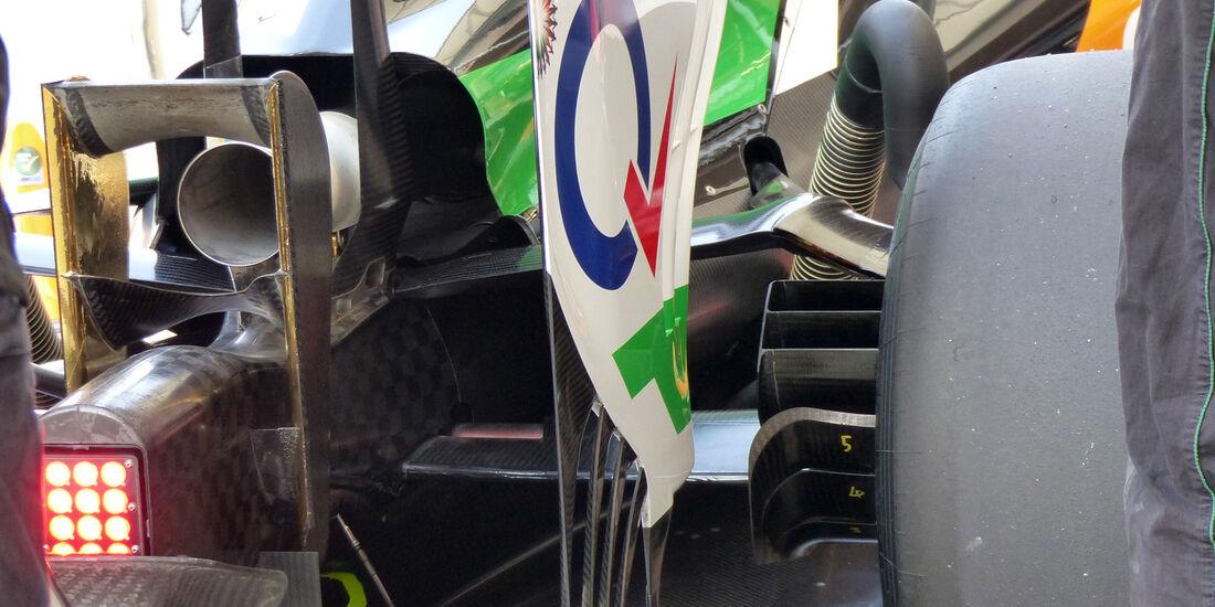Force India - Formel 1 - Test - Bahrain - 27. Februar 2014