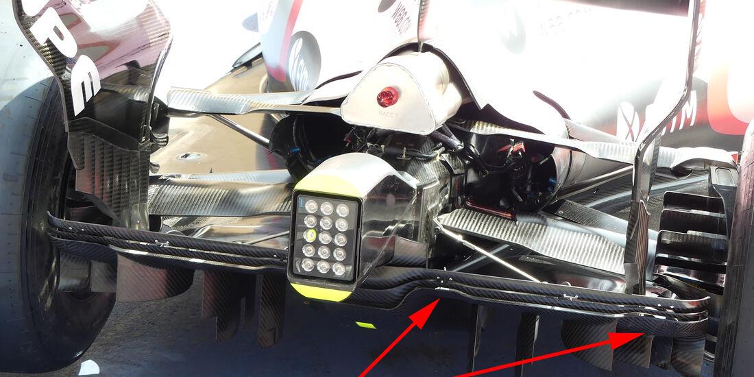 Force India - GP Bahrain - Technik - Formel 1 - 2017