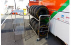 Force India - GP Barcelona - Formel 1 - Mittwoch - 6.5.2015
