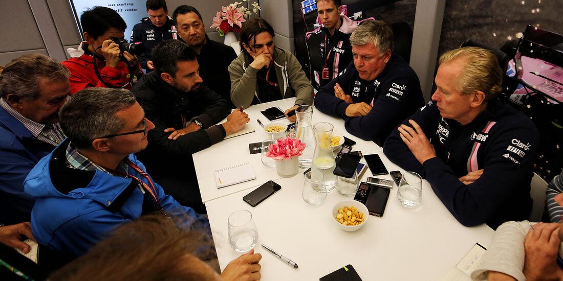 Force India - GP Belgien - Spa-Francorchamps - 24. August 2018