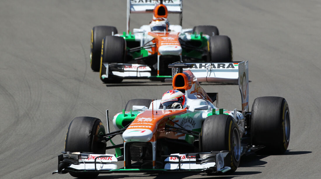Force India - GP Deutschland 2013