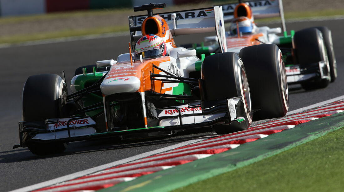 Force India - GP Japan 2013