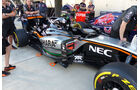 Force India - GP Russland - Sochi - Donnerstag - 8.10.2015