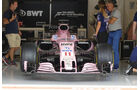 Force India - GP USA - Austin - Formel 1 - Donnerstag - 19.10.2017