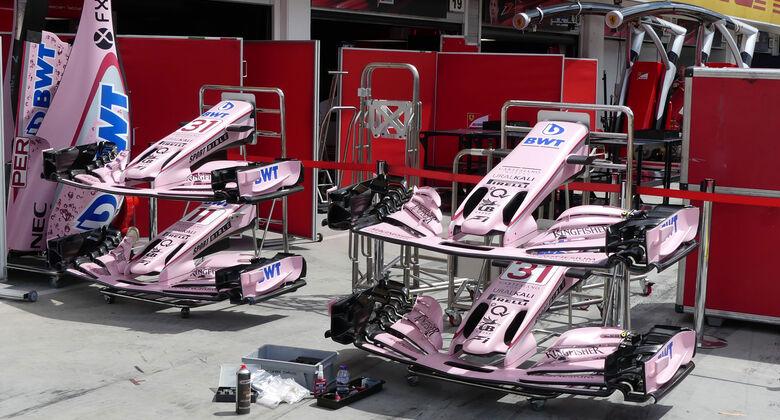 Force India - GP Ungarn 2017 - Budapest - Formel 1 - Mittwoch - 26.7.2017