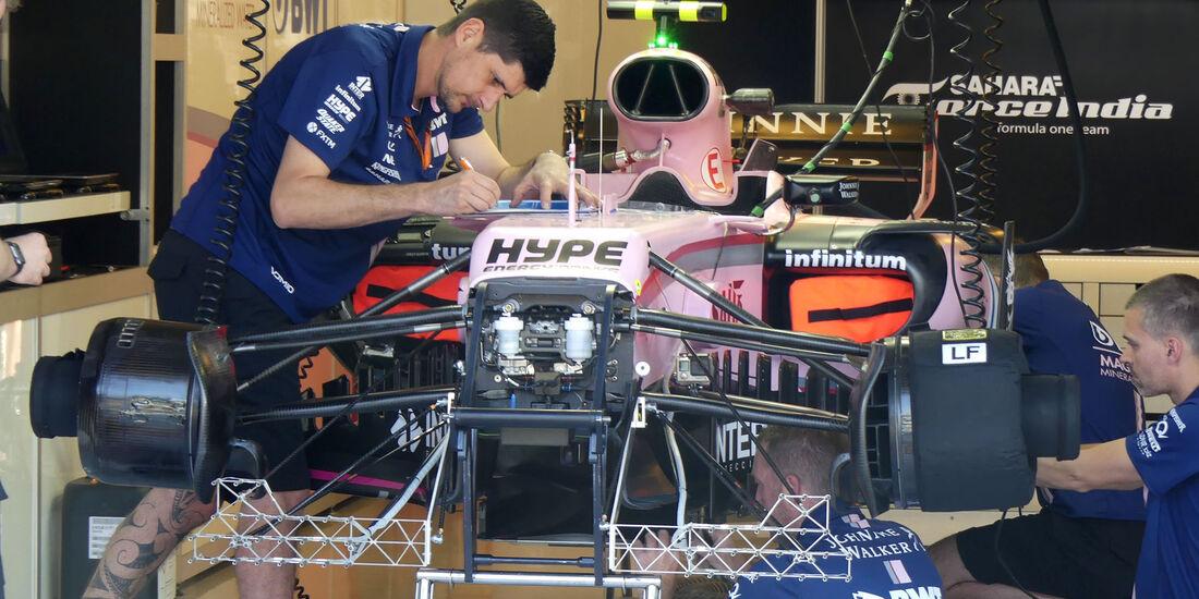 Force India - GP Ungarn - Budapest - Formel 1 - 28.7.2017