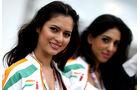 Force India-Girls - GP England - Qualifying - 9. Juli 2011
